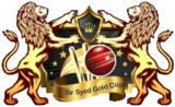 Sir Syed Gold Cup Cricket Tournament 2013