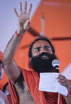BABA RAMDEV AGAINST CORUPTION