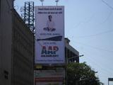Aam Aadmi Party Outdoor Promotion in Mumbai