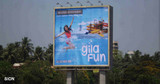essel world launched ad campaign for a new ride with global advertisers