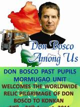 Don Bosco Relic in Goa