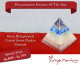 chakra - Metaphysical Crystal Seven Chakra Pyramid