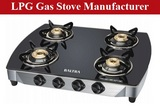 LPG Gas Stove Manufacturer in India