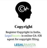copyright in india - Copyright Registration
