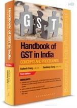 Handbook of GST in India