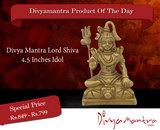 lord shiva - Lord Shiva 4.5 Inches Idol