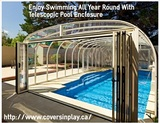Enjoy Swimming All Year Round With Telescopic Pool Enclosure