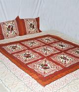 bedsheet - Double Bed Sheet With Pillow Cover