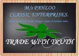PAHLOO CLASSIC ENTERPRISES