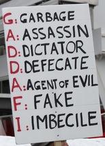 Anti Gaddafi