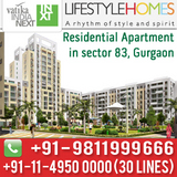 Vatika Lifestyle Homes Sector 83 Gurgaon
