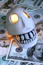 Personal finance loans.