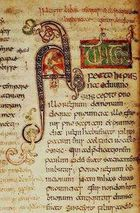 Bede, Ecclesiastical History (British Library, MS Cotton Tiberius C. II)