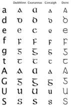 Gaelic type
