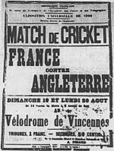 France national cricket team