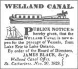First Welland Canal
