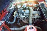 Longitudinal engine
