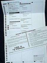 Vote-by-mail in Oregon