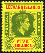 Postage stamps and postal history of the Leeward Islands