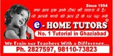 Home Tutors Ghaziabad