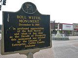 boll - Boll Weevil Monument