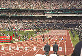 metres hurdles