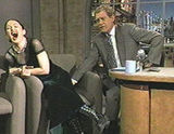 Madonna on Late Show with David Letterman