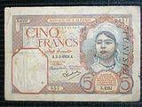 Tunisian franc