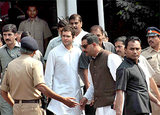 Rahul Gandhi in Mumbai