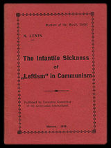 """Left-Wing"" Communism: An Infantile Disorder"